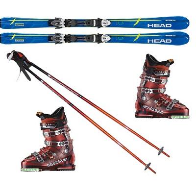 Горные лыжи Head Integrale 600 PR + PR 11 палки и ботинки