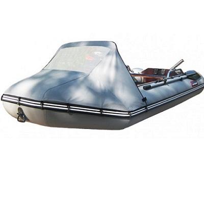 Тент на ПВХ лодки. Носовой тент
